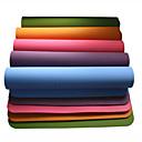 olcso Matracok-Jóga matracok Szagmentes, Környezetbarát, Ragadós TPE Vízálló, Gyors szárítás, Non-Slip mert Jóga / Pilates Zöld, Kék, Burgundi vörös