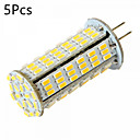 cheap LED Bi-pin Lights-YWXLIGHT® 5pcs 5W 450-500 lm G4 LED Bi-pin Lights MR11 126 leds SMD 3014 Decorative Warm White Cold White DC 24V AC 24V AC 12V DC 12V