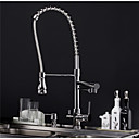 cheap Totes-Kitchen faucet - Contemporary Chrome Pull-out / Pull-down Deck Mounted