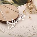 hesapli Moda Kolyeler-Kadın's Uçlu Kolyeler - Moda, ilk Takı Gümüş Kolyeler Uyumluluk Özel Anlar, Doğumgünü, Hediye