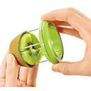 abordables Herramientas Para Vegetales y Verduras-novedad máquina de cortar el kiwi de color desollador kiwi separador fruta divisor de azar
