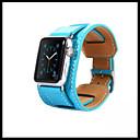 billige Telefonetuier & Skjermbeskyttere-Klokkerem til Apple Watch Series 4/3/2/1 Apple Klassisk spenne Ekte lær Håndleddsrem
