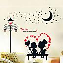 preiswerte Hochzeit Dekorationen-Landschaft Weihnachten Blumen Feiertage Wand-Sticker Flugzeug-Wand Sticker Dekorative Wand Sticker Foto Sticker, Vinyl Haus Dekoration