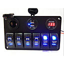 cheap RC Parts & Accessories-LED Rocker Switch Panel(New Products)