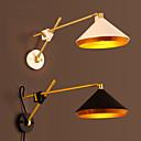 baratos Arandelas de Parede-COSMOSLIGHT Rústico / Campestre Swing Arm Lights Metal Luz de parede 220V