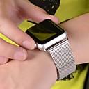billige Smartklokke Tilbehør-Klokkerem til Apple Watch Series 4/3/2/1 Apple Milanesisk rem Rustfritt stål Håndleddsrem
