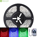 cheap LED Strip Lights-SENCART 5m RGB Strip Lights 300 LEDs 5050 SMD RGB Waterproof / Cuttable / Linkable 12 V 1pc / IP68 / Suitable for Vehicles / Self-adhesive