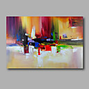 cheap Abstract Paintings-Oil Painting Hand Painted - Abstract Modern