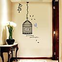 hesapli Duvar Çıkartmaları-Manzara Yılbaşı Çiçekler Tatil Duvar Etiketler 3D Duvar Çıkartması Dekoratif Duvar Çıkartmaları, Vinil Ev dekorasyonu Duvar Çıkartması