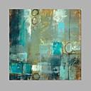 billige Oliemalerier-Hang-Painted Oliemaleri Hånd malede - Abstrakt Moderne Lærred