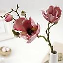 billige Mote Halskjede-Kunstige blomster 1 Gren Europeisk Stil Magnolia Bordblomst