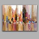 preiswerte Abstrakte Gemälde-Hang-Ölgemälde Handgemalte - Abstrakt Europäischer Stil Segeltuch