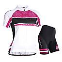 cheap Cycling Jersey & Shorts / Pants Sets-Nuckily Cycling Jersey with Shorts Women's Short Sleeves Bike Jersey Shorts Padded Shorts/Chamois Clothing Suits Bike Wear Waterproof