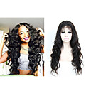 cheap Human Hair Wigs-Human Hair Glueless Full Lace Glueless Lace Front Full Lace Wig Body Wave Wig 130% Hair Density Natural Hairline African American Wig 100% Hand Tied Women's Short Medium Length Long Human Hair Lace