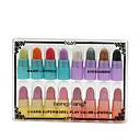 billige Læbestifter-Makeupværktøj Læbestifter Våd Fugt 16 pcs Makeup Kosmetiske Daglig Plejemidler