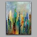 cheap Top Artists' Oil paitings-Oil Painting Hand Painted - Abstract European Style Canvas