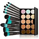 cheap Eye Kits & Palettes-Balm Concealer / Contour Makeup Brushes Single Open Lid 1 pcs 1160 Eye Hand Neck Dry Wet Combination Breathable Coverage Long Lasting 15 Colors Cosmetic Grooming Supplies