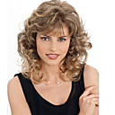 cheap Synthetic Capless Wigs-Synthetic Wig Wavy Blonde Synthetic Hair Blonde Wig Women's Capless Blonde