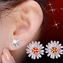 halpa Muotikorvakorut-Niittikorvakorut - Helmi Flower, Päivänkakkara Toimisto Oranssi Käyttötarkoitus