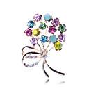preiswerte Modische Broschen-Damen Broschen - Diamantimitate Blume Luxus, Party, Modisch Brosche Regenbogen Für Party / Besondere Anlässe / Geburtstag