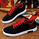 cheap Men's Sneakers-Men's Shoes Canvas Spring Summer Fall Vulcanized Shoes for Casual Red Green Blue