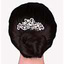 baratos Acessórios de Cabelo-Liga Pentes de cabelo com 1 Casamento / Ocasião Especial Capacete