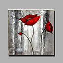 baratos Pinturas de Natureza Morta-Pintura a Óleo Pintados à mão - Vida Imóvel Modern Tela de pintura