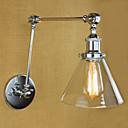 baratos Brincos-Rústico / Campestre Swing Arm Lights Metal Luz de parede 110V / 110-120V / 220-240V 40W