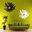 billige Veggklistremerker-Romantik / Blomster Wall Stickers Fly vægklistermærker , PVC L: 58 x 65 cm / M: 40 x 45cm / S: 25 x 28cm