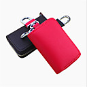 cheap Travel Bags-Both Men And Women Can Stick Cross Embossed Leather Car Key Bag / Car Remote Package
