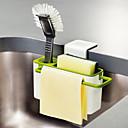 povoljno Racks & Holders-kuhinjska četka spužvastog sudopera koji se ispušta s usisnom košaricom