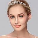 cheap Party Headpieces-Rhinestone Headbands with 1 Wedding / Special Occasion / Casual Headpiece
