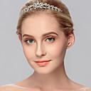 baratos Anéis-Strass Headbands com 1 Casamento / Ocasião Especial / Casual Capacete