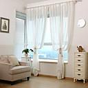 preiswerte Hohler Nagelaufkleber-Schlaufen für Gardinenstange Ösen Schlaufen Zweifach gefaltet zwei Panele Window Treatment Modern Europäisch Mediterran Neoklassisch