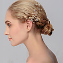 cheap Party Headpieces-Rhinestone Hair Combs 1 Wedding / Special Occasion / Casual Headpiece