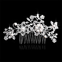 cheap Wedding Wraps-Side Combs Hair Accessories Crystal Wigs Accessories Women's pcs 6-10cm cm