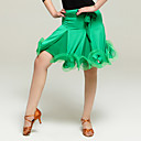 cheap Latin Dancewear-Latin Dance Tutus & Skirts Women's Performance Viscose Ruffles Natural Skirt