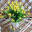 baratos Flor artificiali-Flores artificiais 1 Ramo Estilo simples Lírios Flor de Mesa