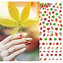 abordables Nail Art de Navidad-1 pcs Etiqueta engomada de la transferencia arte de uñas Manicura pedicura Flor / Abstracto / Boda Diario