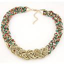 preiswerte Modische Halsketten-Damen Lasso Stränge Halskette / Torques - Modisch Modische Halsketten Für Alltag, Normal
