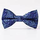זול אביזרים לגברים-עניבת פפיון - יצירתי מסוגנן מסיבה/ערב סגנון רשמי פאר דוגמא משרד / עסקים בגדי ריקוד גברים