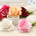 זול פרחים מלאכותיים-פרחים מלאכותיים 1 ענף פסטורלי סגנון ורדים פרחים לשולחן