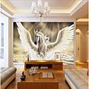 olcso Falfestmény-Art Deco 3D lakberendezési Kortárs Falburkolat, Vászon Anyag ragasztószükséglet Falfestmény, szoba Falburkoló
