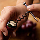 cheap Corkscrews & Openers-Wine Bottle Opener Corkscrew Keychain Stainless Steel Outdoor Tools