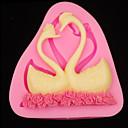 billige Ferie Tilbud-Bakeware verktøy Silikon Gummi 3D / Bursdag Kake / Pai / Sjokolade Dyr Bakeform 1pc