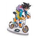 billige Anime actionfigurer-Anime Action Figurer Inspirert av Dragon Ball Cosplay PVC 9 cm CM Modell Leker Dukke