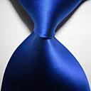 olcso Kislány cipők-Férfi Kreatív Stílusos Luxus Egyszínű Klasszikus Party Esküvő - Nyakkendő
