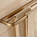preiswerte Bodenabfluss-Handtuchhalter Moderne Messing 1 Stück - Hotelbad 2-Turm-Bar