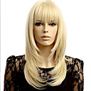 cheap Jewelry Sets-Synthetic Wig Women's Straight Blonde Synthetic Hair 20 inch Blonde Wig Medium Length Blonde StrongBeauty
