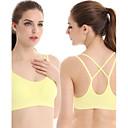 baratos Camisas, Shorts & Calças de Corrida-Sutiã Esportivo / camadas de base / Malha Íntima Mulheres Secagem Rápida / Alta Respirabilidade (>15,001g) / Respirável para Ioga /